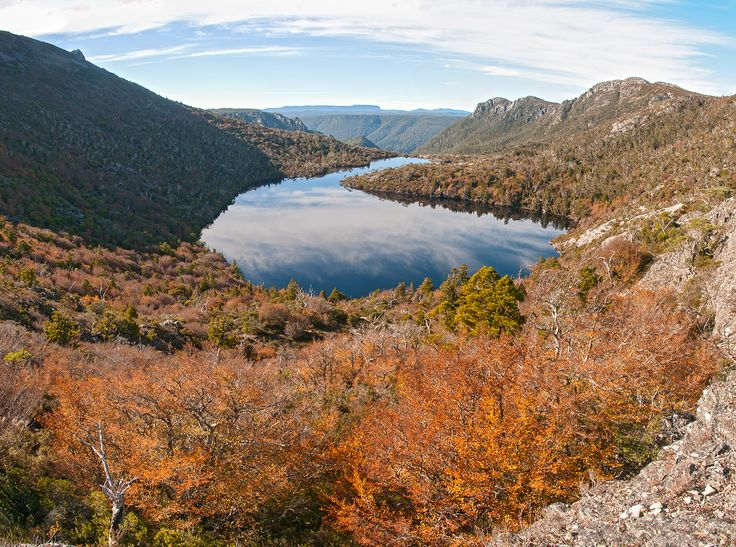 Autumn magic from Hansons lake, Cradle Mountain