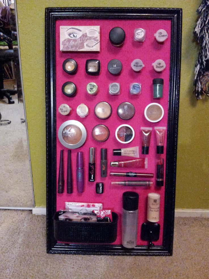 Top 25 Best Magnetic Makeup Board Ideas On Pinterest