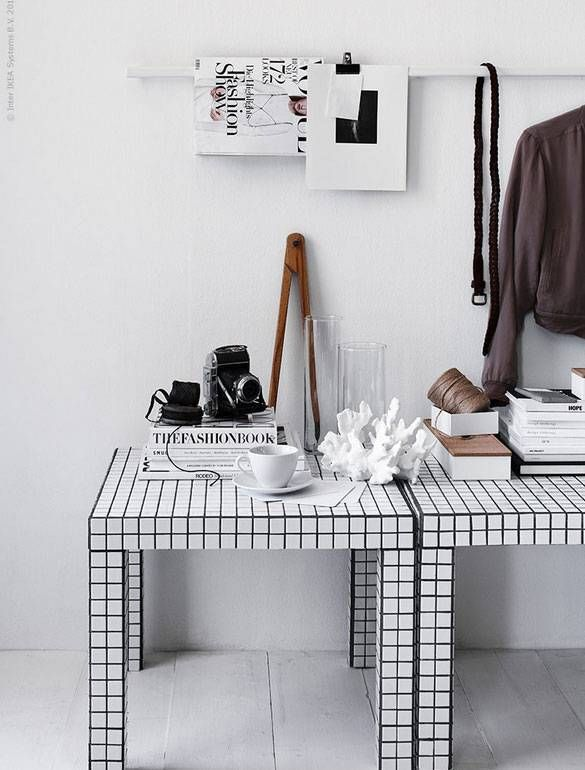 The Gridded Coffee Table #TheBeautyAddict