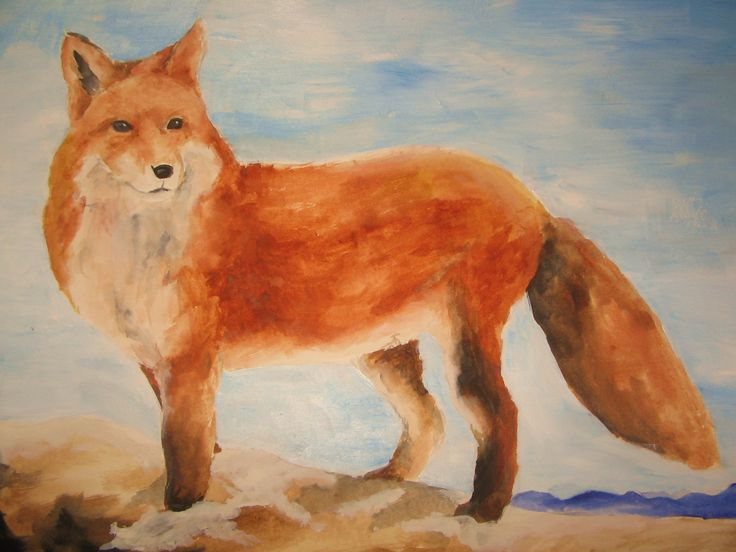 Katja Samouilhan - fox in the snow 2013