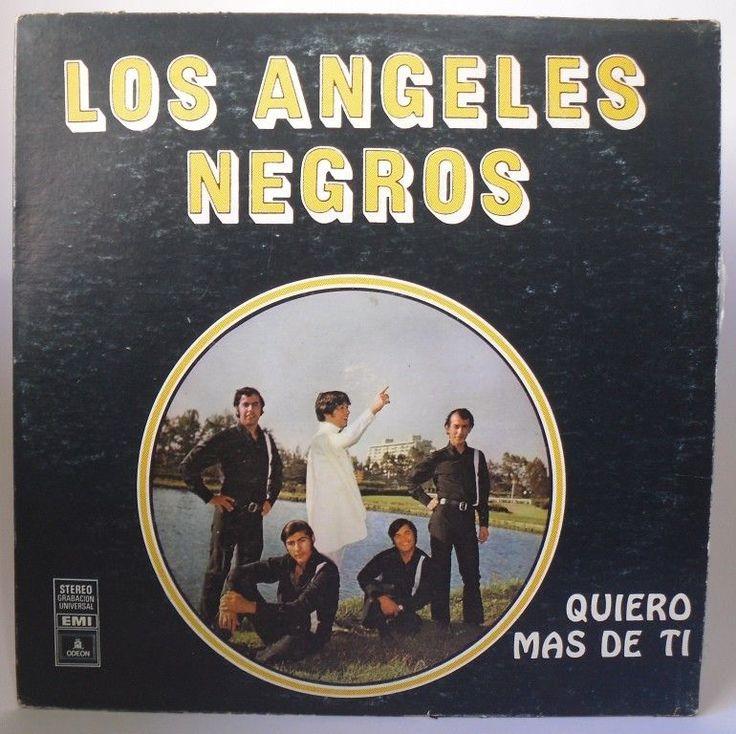 Los Angeles Negros - Quiero mas de Ti - LP Hecho en Venezuela BY Odeon #LatinPop