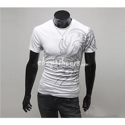 Male Fashion Round Neck Short Sleeve Tattoo Printed T Shirts from ebuy24hours.com online shopping store    #male #fashion #tattoo #print #tee #tshirt #men #man #tees #tshirts #summer #buy #shop