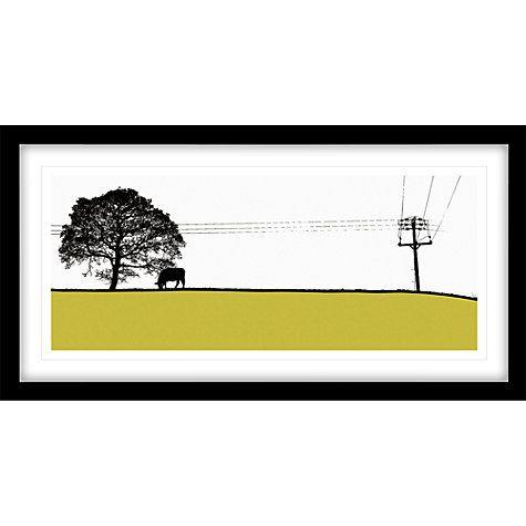 Buy Jacky Al-Samarraie -Yeadon Framed Print, 44 x 84cm Online at johnlewis.com