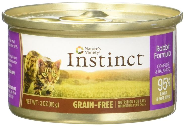 Instinct rabbit canned cat food size 3 oz case of 24