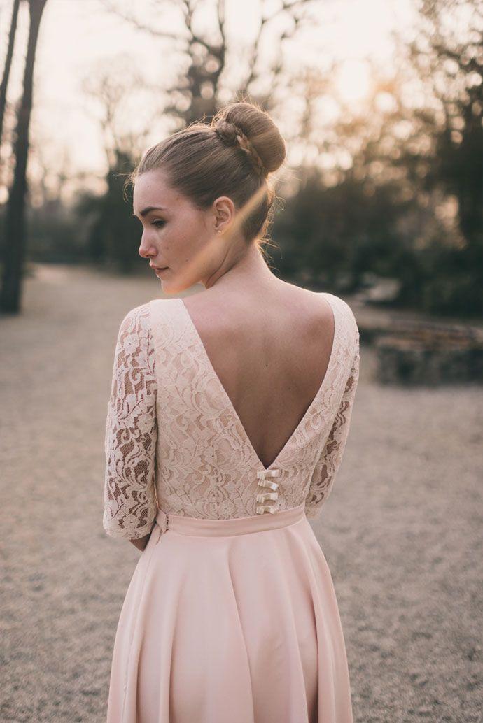 Les robes de mariée personnalisables de Marion Kenezi | Photographe : Julien Navarre | Donne-moi ta main - Blog mariage