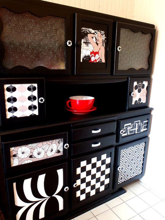 183 best vaisselier mado images on pinterest buffets food buffet and kitchen dresser. Black Bedroom Furniture Sets. Home Design Ideas