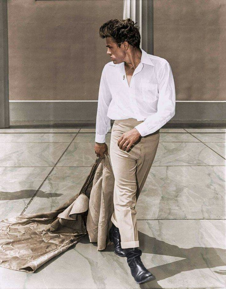 nice colored photo of James Dean