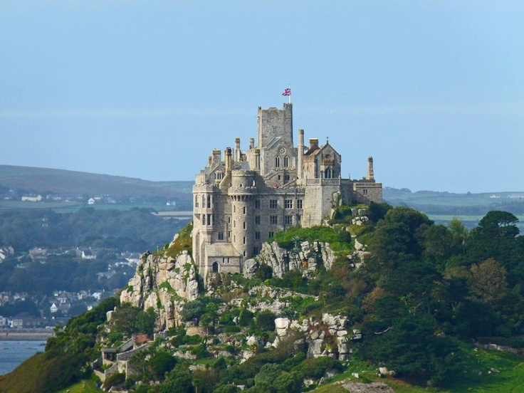 ST MICHAEL'S MOUNT | Cornwall: 'On a tidal island 366 metres off the West Cornwall coast'     ✫ღ⊰n