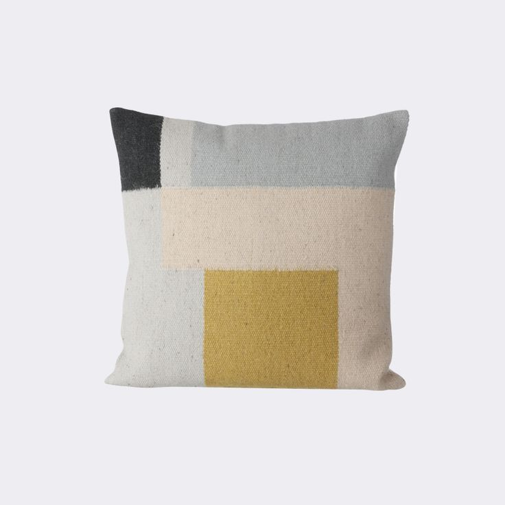 Funky and modern, add this pillow to your couch for a casual look. Crafted for the boho-girl-at-heart, the Kelim Pillow is fun, vintage, and modern.