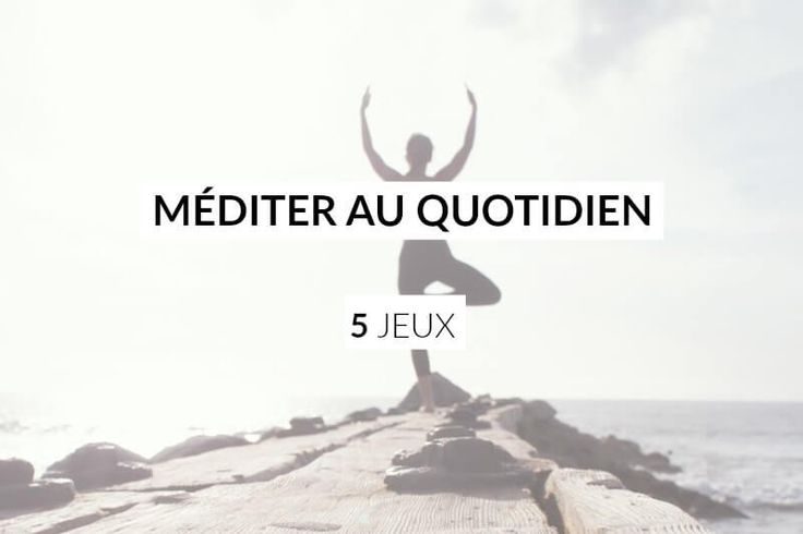 Apprendre à méditer au quotidien est devenu un incontournable de la zen attitude. Pourtant, pour beaucoup je sais que la...