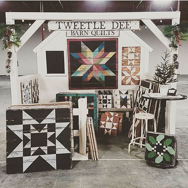 barn quilts display