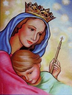 17 best Virgen Mara Auxiliadora images on Pinterest  Virgin mary