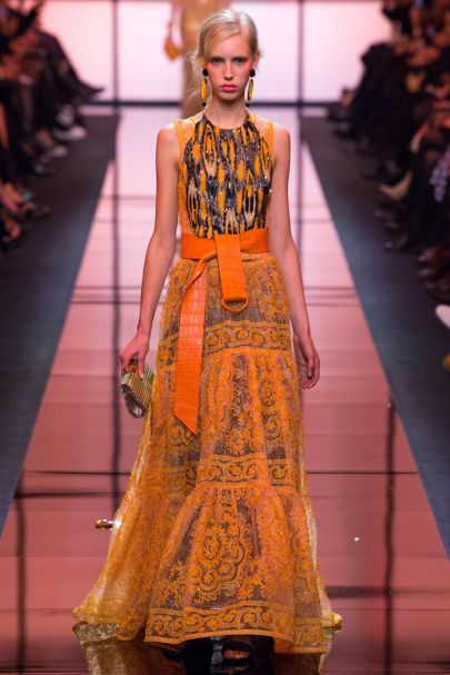 Armani Privé Spring/Summer 2017 Couture Collection | British Vogue