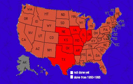 Where do tornadoes happen?
