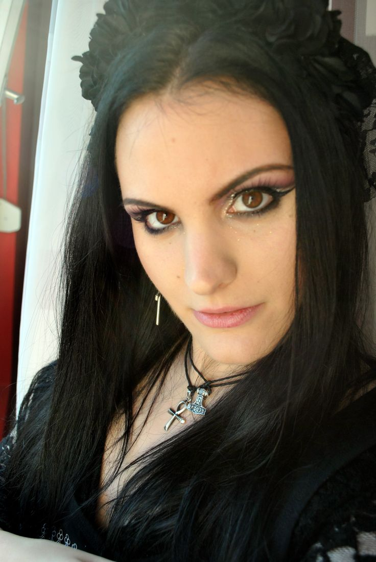 #makeup, #gothicmakeup, #gothic NekromanCica,