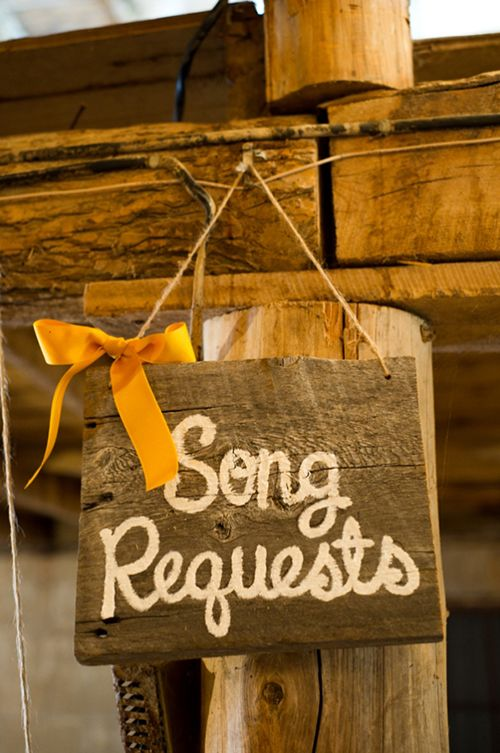 Start planning your wedding reception playlist early by asking for song requests at your engagement party! | Brides.com