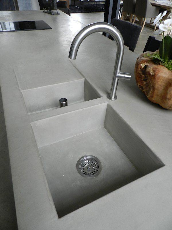 Keuken nieuwbouw - Texture Painting - Mortex