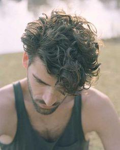 Haircut for Curly Hair Men