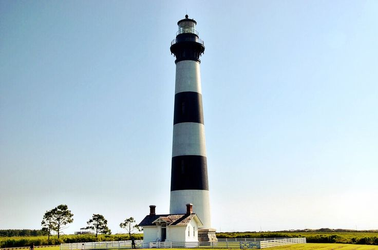 Bodie Lighthouse on North Carolina's Outer Banks