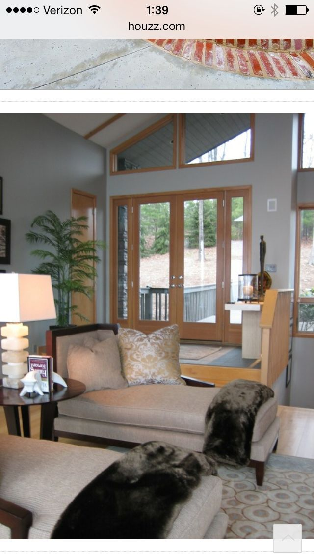 Living Room Colors With Oak Trim