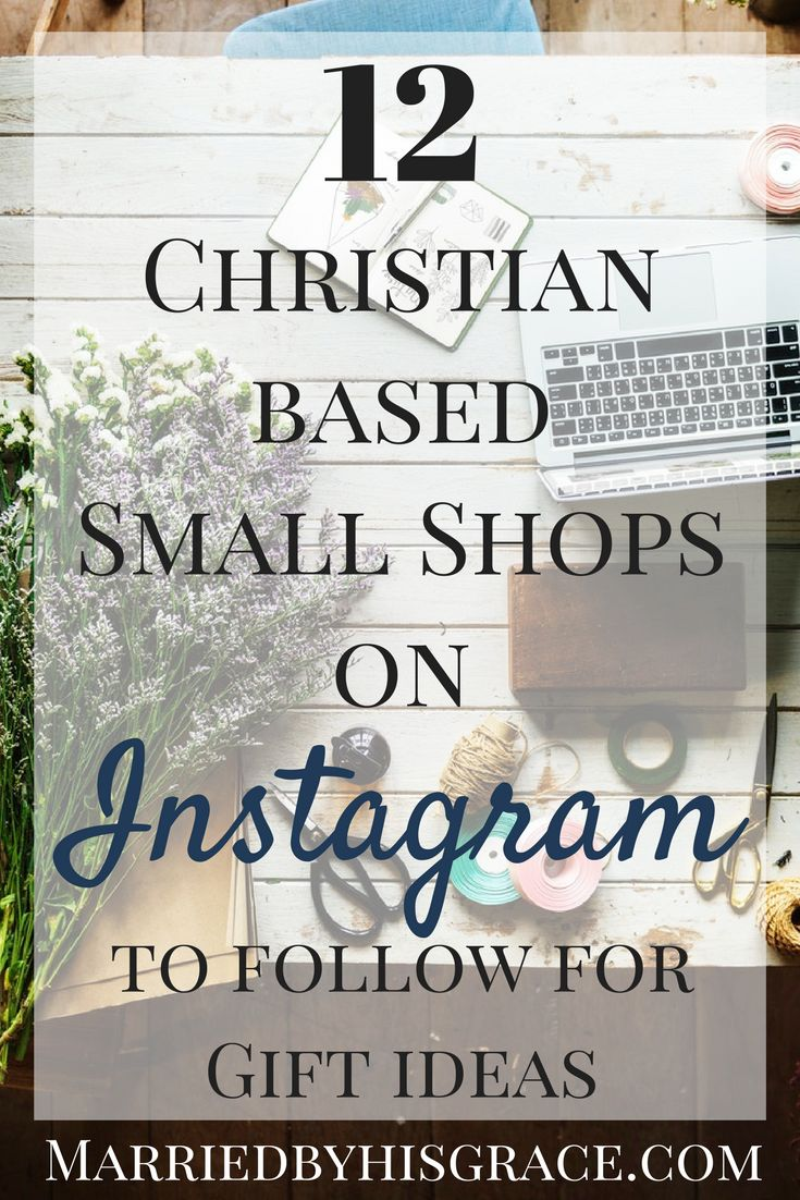 12 Christian Based Small Shops to Follow.