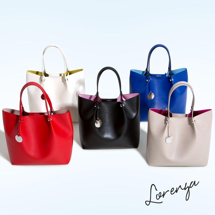Loristella Lorenza Collection #loristella #lorenzabag #glamour #fashion #handmade #handbag #leatherbag #colours #moda #shop #instacool