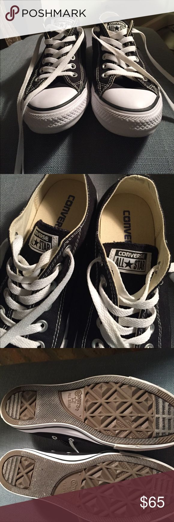 Brand New without Tags! Converse Black size 7.5 Brand new! 7.5 Black converse Converse Shoes Sneakers