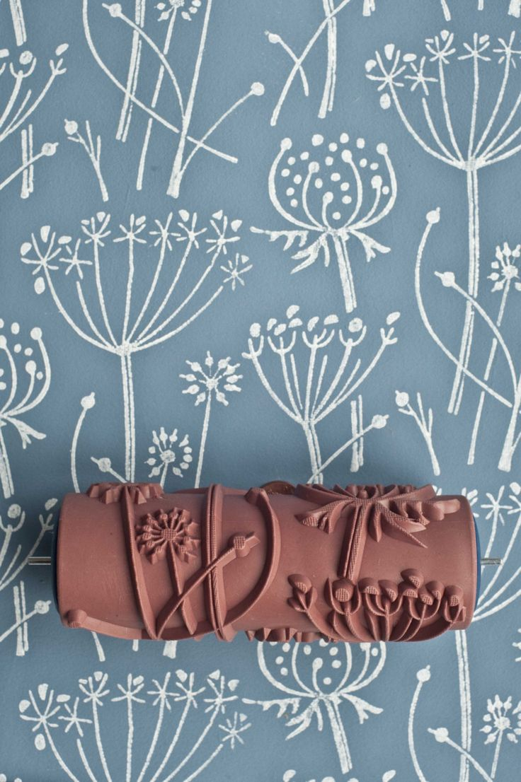 Tussock patterned paint roller by patternedpaintroller on Etsy https://www.etsy.com/listing/160497337/tussock-patterned-paint-roller