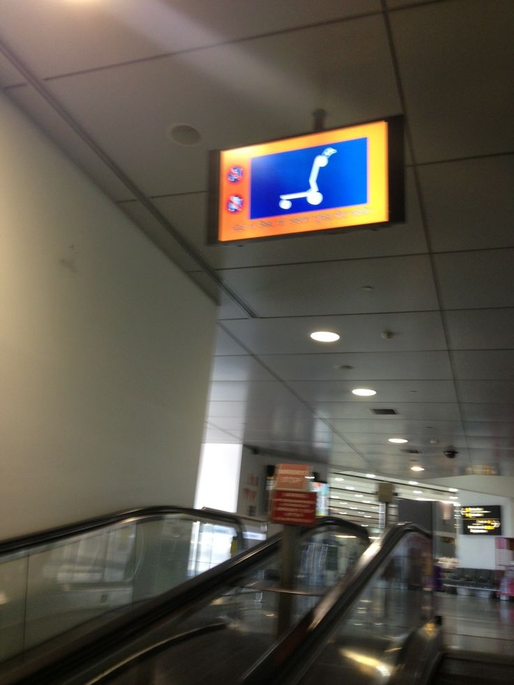 The video we were looking to replace with something more engaging like the #animation and #signage for the #Melbourne Airport using Aussie #animals!