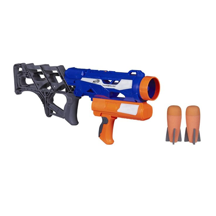 #Amazon: Nerf N-Strike Thunderblast Launcher -- $7.50  FS w/Prime at Amazon #LavaHot http://www.lavahotdeals.com/us/cheap/nerf-strike-thunderblast-launcher-7-50-fs-prime/56437