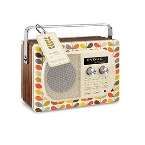 Orla Kiely Evoke Mio Digital and FM radio
