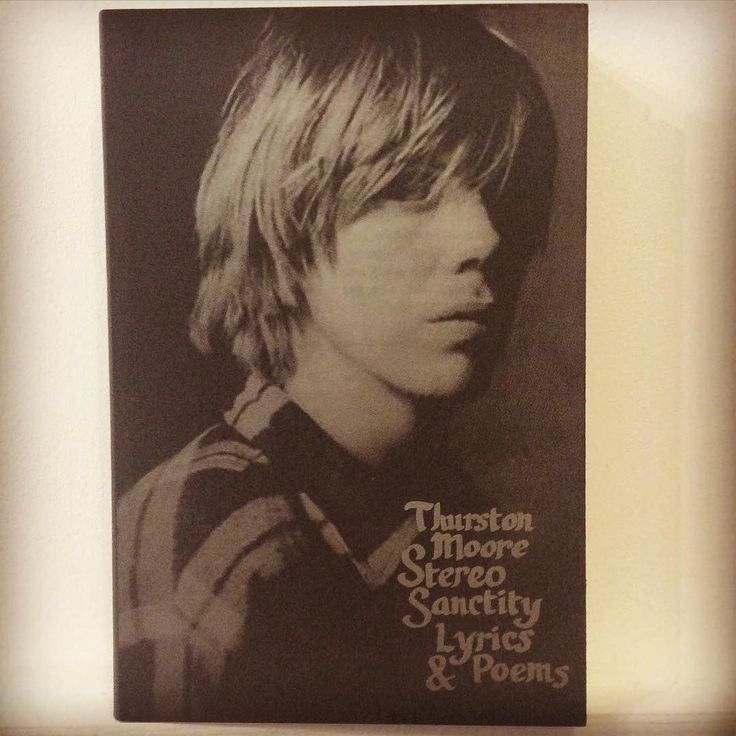 #SIGNED & #NUMBERED copies of Thurston Moore's collection of #poems and #lyrics (1981 -2014) Stereo Sanctity now in store #thurstonmoore #sonicyouth #nowave #poems #lyrics #electricguitar #newyork #experimental #rock #kimgordon #glennbranca #leeranaldo #drone