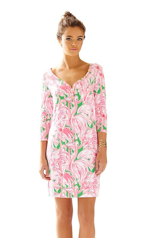 Newsflash - the Palmetto printed v-neck dress is going to be your new favorite. This long sleeve henley dress can be worn on its own for a warm day of shopping or layered with a sweater and boots for a cool spring evening.