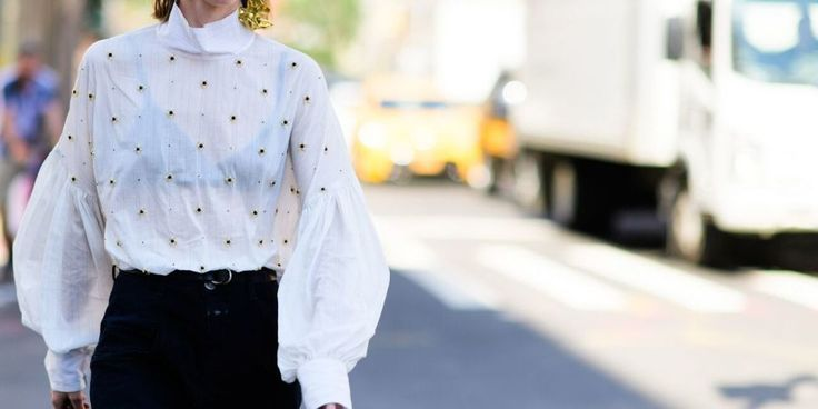 A Romantic Blouse Should Be Your Winter Wardrobe BFF