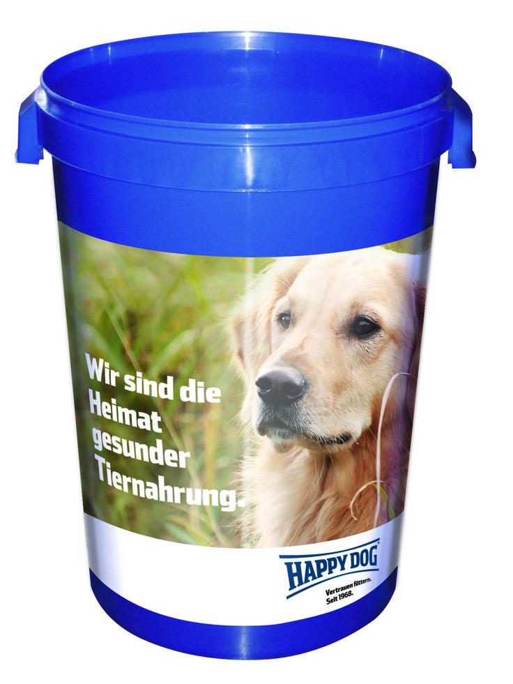 Happy Dog food bucket