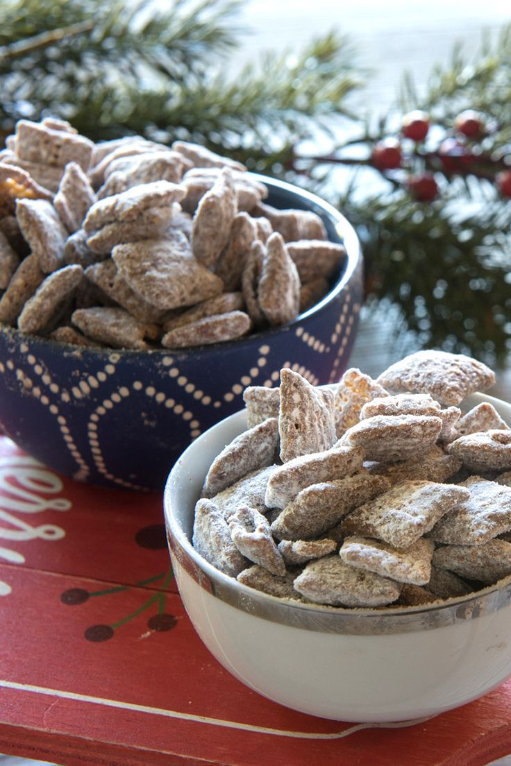 It's the season for Muddy Buddies! You may know it as Puppy Chow. This is one of our most loved recipes so we're excited to share it again with you all. Happy making homemade Chex Mix lovers :)