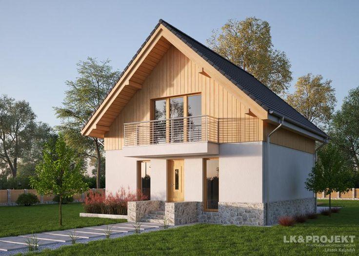 LK&1182 http://lk-projekt.pl/lkand1182-produkt-9506.html #architektura #maledomy #projektydomow