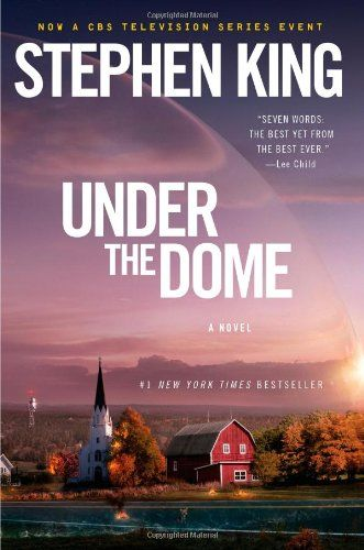 """""""Under the Dome"""" by Stephen King (I am reading this right now and so far, so good. This will definitely take more than 2 days to read though, its thick!)"""