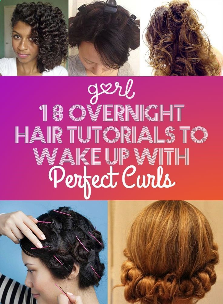 styling hair overnight 18 overnight hair tutorials that will let you up with 8881
