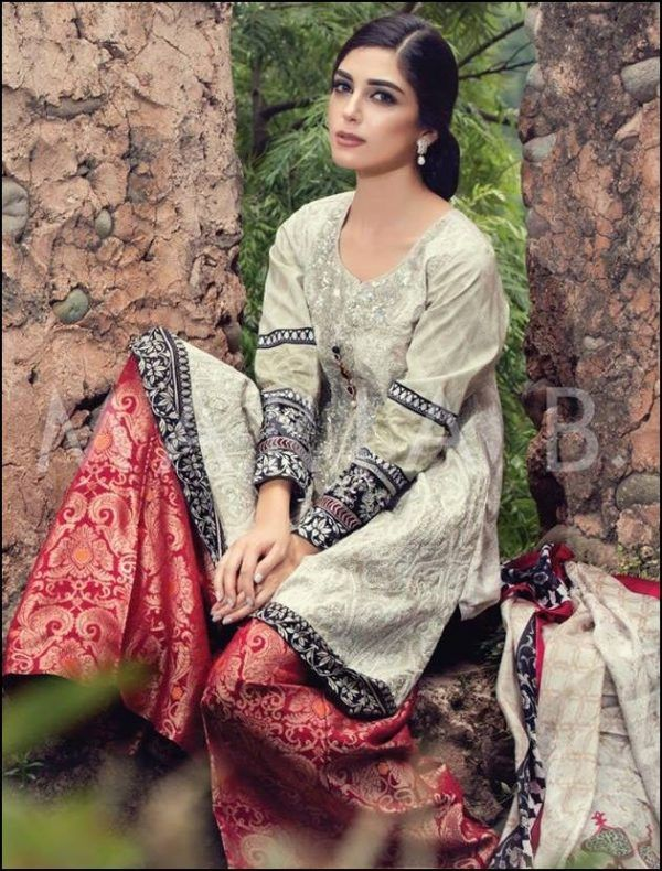 Maria B EID Lawn Collection 2016 Catalogue-5