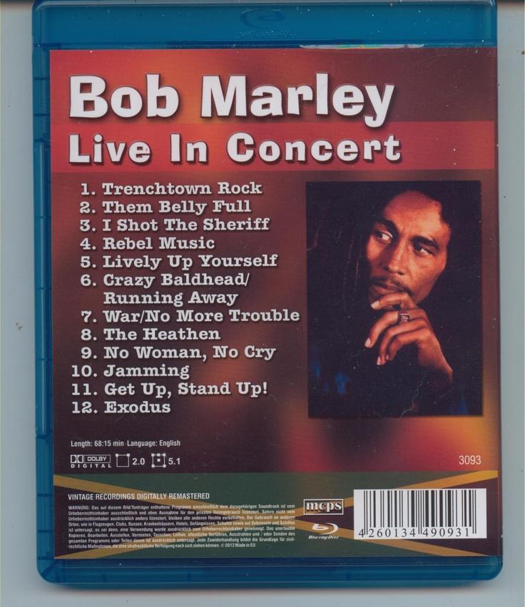 2012-04-02 Bob Marley - Live In Concert ( Rainbow 1977) -