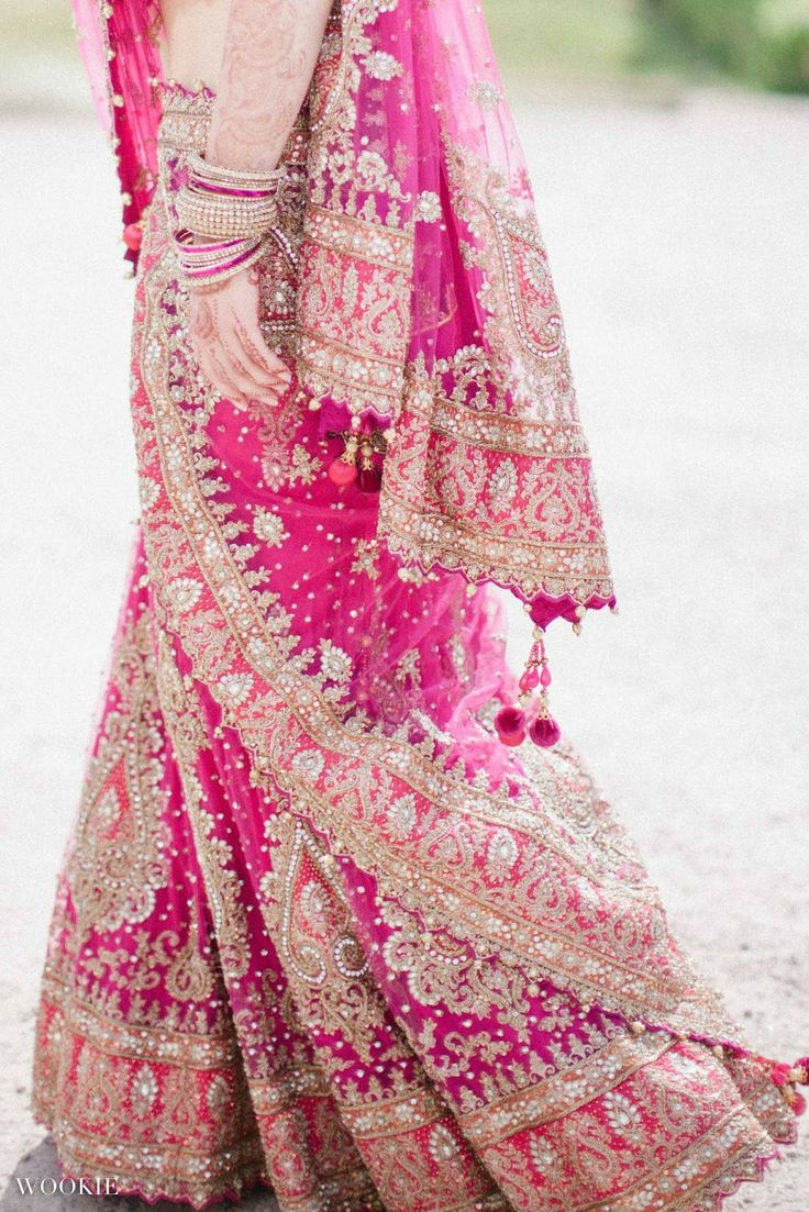 WOOKIE PHOTOGRAPHY | UK Fine Art Wedding Photography Film | Palm House, Sefton Park, Liverpool | Indian  English Hindu Wedding Pink Bridal Sari