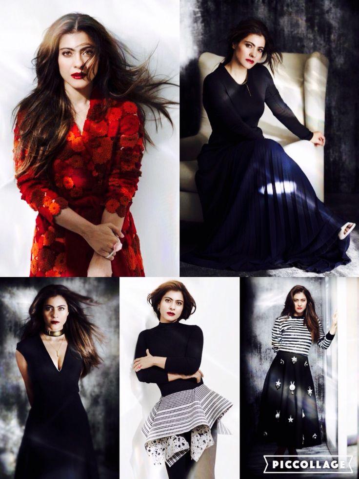 Kajol Devgan for Elle 2015 photoshoot