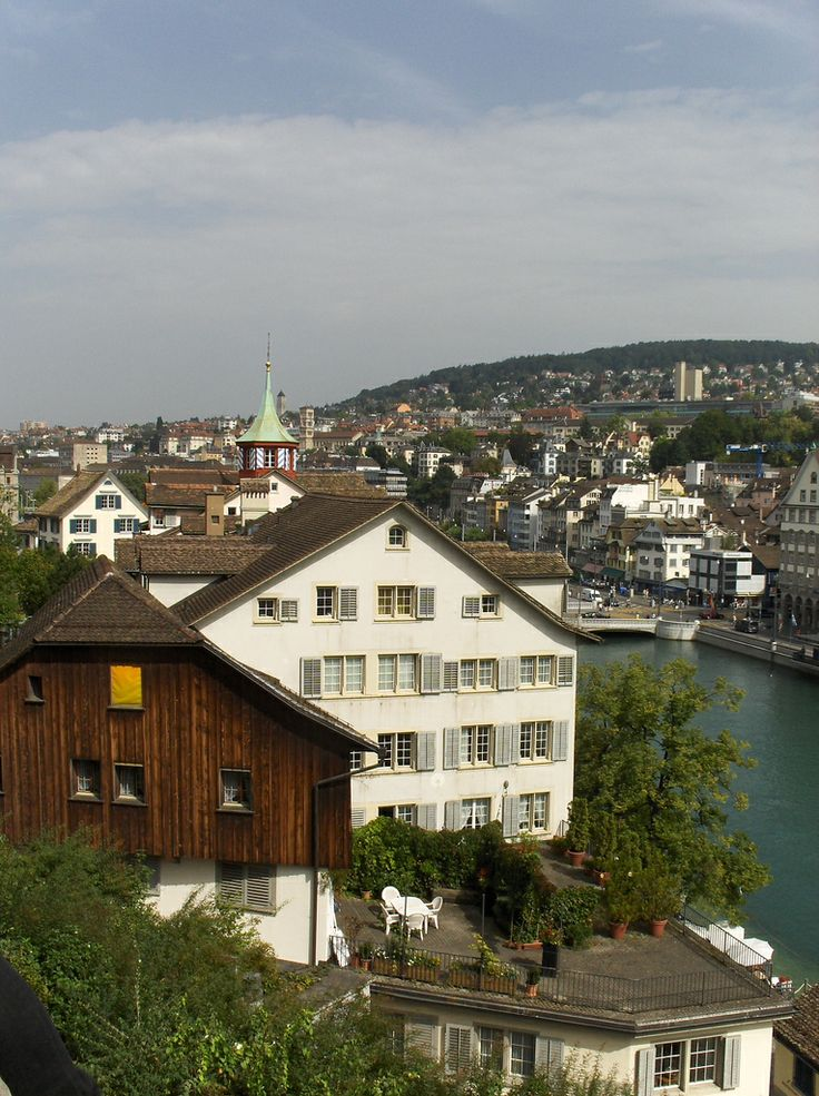 Zürich from my favourite view