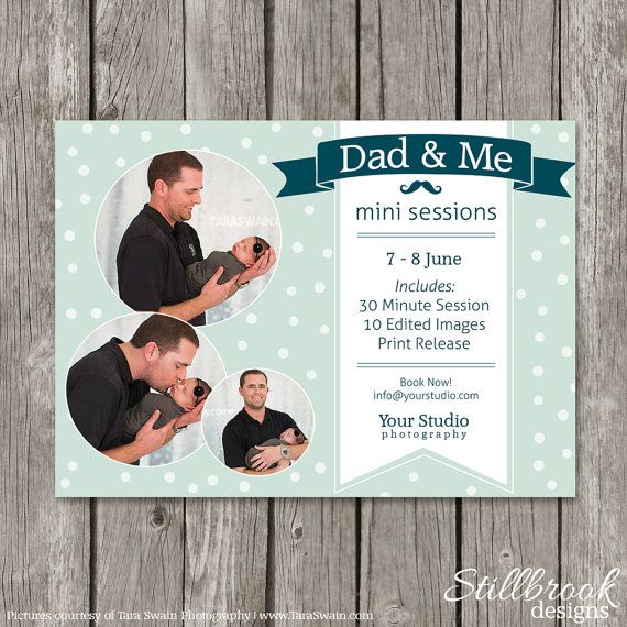 Father's Day Template Mini Session