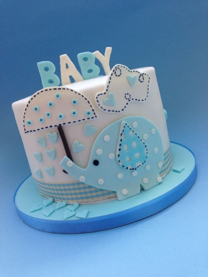 Itu0027s A Boy   *Baby Shower Cake Made For A Lady Who Is Expecting A