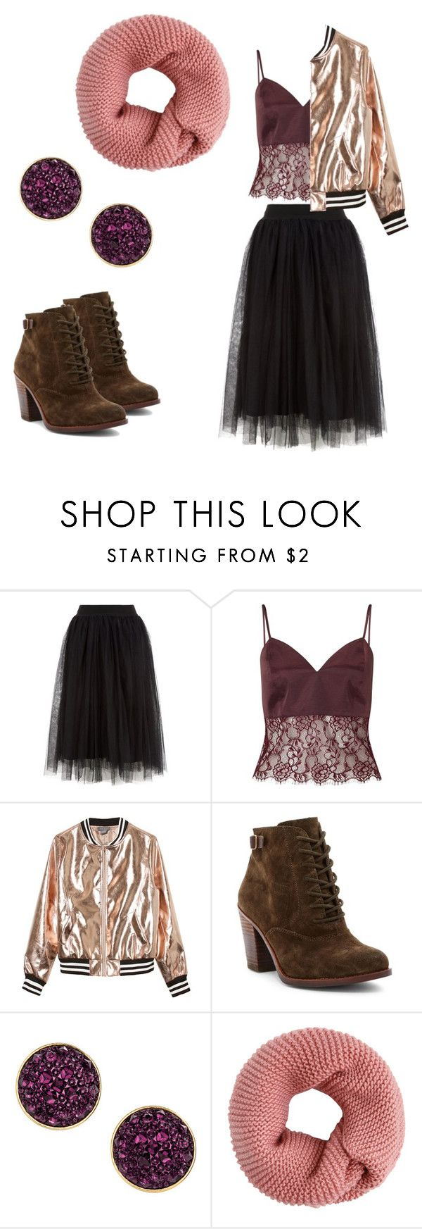 """""""Something new"""" by sinihanna on Polyvore featuring Miss Selfridge, Sans Souci, Lucky Brand and H&M"""