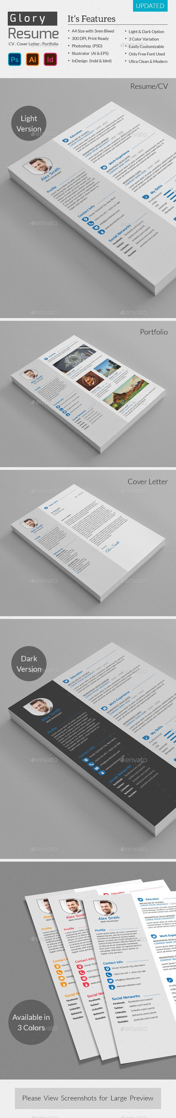 Best 25 Modern Cv Template Ideas On Pinterest Cv Design Cv
