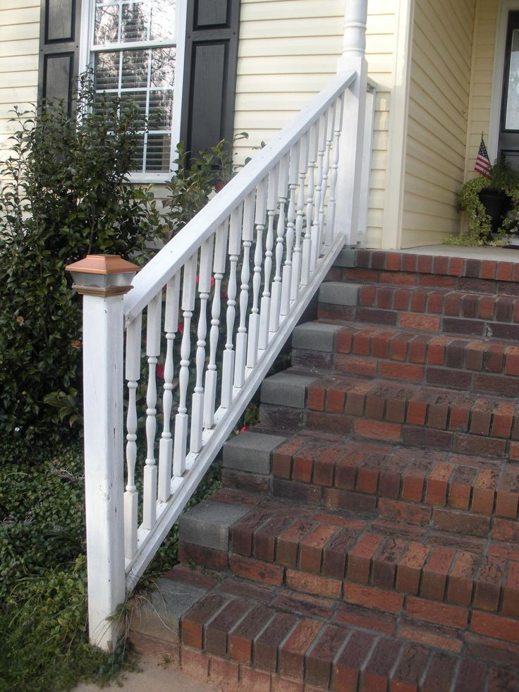 Front Porch Stairs Hand Rail | Front Porch Stair Railings