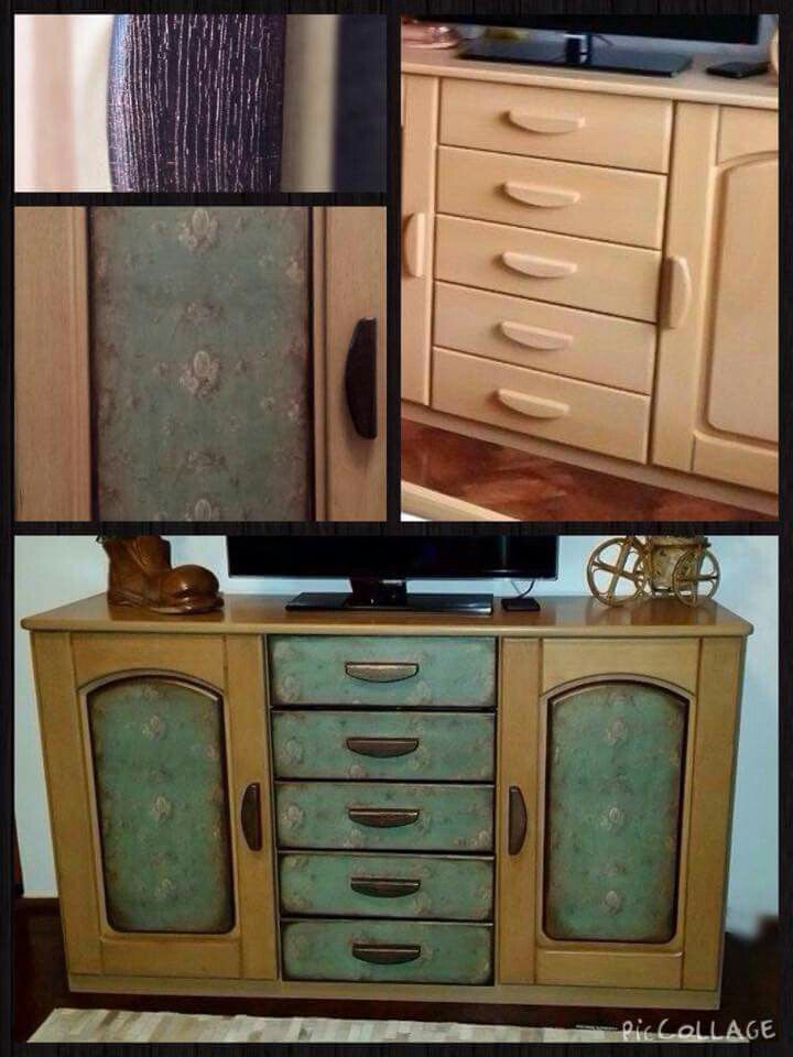 Furniture makeover from boring to charming